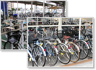 放置 自転車 の 解消 や 自転車 ...